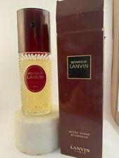 Vintage Monsieur Lanvin After Shave Spray 120 ml - 4.0 Oz. , 95% full, Boxed