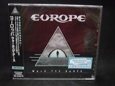 EUROPE Walk The Earth JAPAN CD Thin Lizzy John Norum Treat MSG Gary Moore