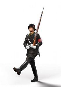 1/16 Resin Figure Model Kit German Soldier Waffen-SS WWII Unpainted Unassamble &