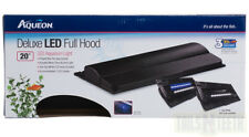 "Aqueon Deluxe LED Full Hood 20"" Aquarium Lighting for Freshwater or Marine"