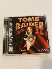 Tomb Raider Ii Starring Lara Croft (Sony PlayStation 1, 1997)