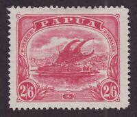 Papua Sc #57 (1911) - 2sh6d rose Lakatoi Mint VF H