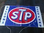 Richard Petty Autographed STP Vintage Sign GARAGE GAS STATION MAN CAVE BAR