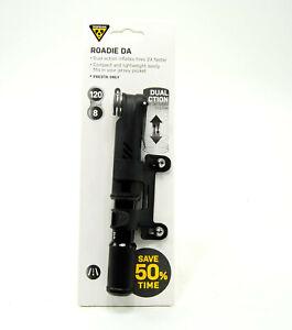 Topeak Roadie DA Dual Action Compact Road Bike Pump