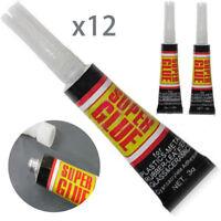 12X 502 Cyanacrylat Klebstoff Kleber Spezialkleber Sekundenkleber Super starken
