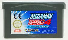 MegaMan Battle Network 4 Blue Moon Nintendo GameBoy Advance GBA NUR MODUL sehr g
