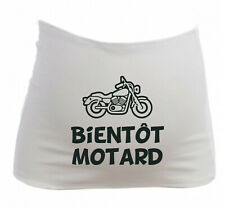 Bandeau Grossesse Maternité Bientôt Motard - Femme Enceinte future maman - Moto