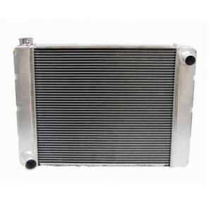 "26"" inch Ford Triple Pass Core Aluminum Radiator Passenger Side Inlet"