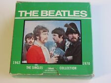 THE BEATLES SINGLES  COLLECTION  BOX  22  x  45's  1976 UK  1ST GREEN BOX ISSUE
