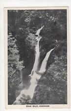 Stock Ghyll Ambleside Vintage Postcard 624a