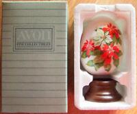 "1987 Avon Gifts of Nature ""WINTER'S TREASURE"" Porcelain Egg - Japan - Brand New!"