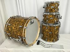 Pearl Music City Custom Reference Pure 4 Pc Drum Kit/GOLDEN YELLOW ABALONE/#420