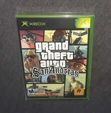Grand Theft Auto: San Andreas (Xbox, 2005) Rare Factory Sealed Second Edition