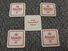 5 Schmidt's of Philadelphia Pa Light Beer Coasters