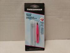 Tweezerman Mini Slant Tweezer Pink 1248-CR