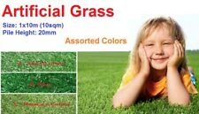 Premium 10Sqm 20mm Synthetic Turf Artificial Grass Lawn Flooring Natural 4 Color