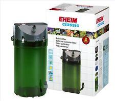 Eheim Classic 250 350 700 External Fish Tank Filter & Sponges Carbon Wool Blue