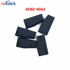 4D60 40bit Carbon Auto Car Key Transponder Chip Id60 4D Blank Chip