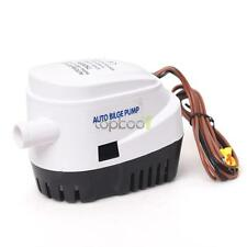 12V Marine Automatic Submersible 750GPH Auto Bilge Water Pump Float Switch top
