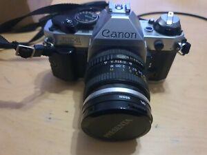 Canon AE-1 Program mit Objektiv