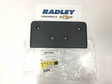 NEW OEM GM EQUINOX FRONT LICENSE PLATE HOLDER MOUNT 2010-2015 25798733