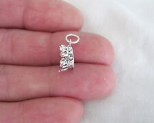 Sterling Silver Crown small charm