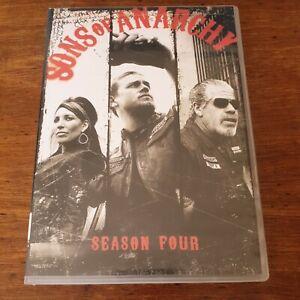 Sons of Anarchy Season 4 DVD Region 1 USA CANADA Like New! FREE POST