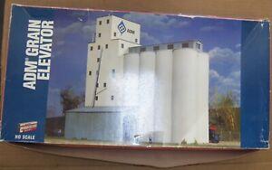 Walthers Cornerstone - ADM Grain Elevator Kit # 933-3098