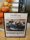 """ Poster Original Bernard Buffet 1997 Gallery Christian Dazy Trawler """