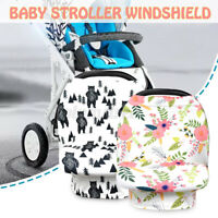 Nursing Breastfeeding Cover Scarf Soft Baby Stroller Cart Seat Cover