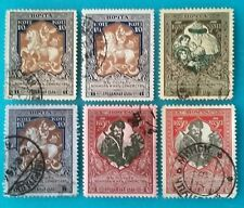 Russia(Empire)1914-15 Charity for Soldiers & their families 6 variety R#01328