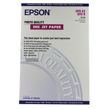 Epson Photo Quality Inkjet Paper Matte 102gsm. Super A3 (A3+) S041069 100 Sheets