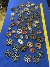 55 Faucet Handles Industrial Steampunk Large Metal Gears Parts Supplies Lot