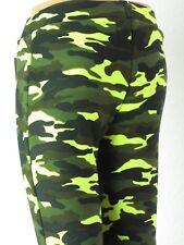 Thermoleggings Kinder Sport Jungen Mädchen Camouflage Winterleggings kuschelig