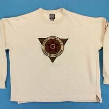 Herren Guess Jeans Vintage Sweatshirt Größe XL/XXL 90s Patch Gesticktes Logo