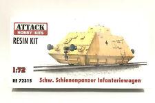 Attack Hobby Kits RESIN 1/72 German Armored Train Schienenpanzer Infanteriewagen