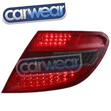 MERCEDED BENZ W204 07-10 SMOKE RED LED TAIL LIGHT C200 C220 CDI C280 C63 AMG