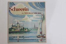20199 Reise Prospekt Schwerin in Mecklenburg um 1937 mit vielen Abbildungen