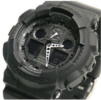 CASIO G-SHOCK GA-100-1A1ER Mens Combi Watch *NEW*  gshock GA1001A1ER
