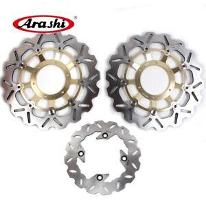 Fits Honda CBR600RR 2003 - 2015 2009 2010 2011 2012 Front Rear Brake Disc Rotors