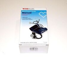 BLOOD PRESSURE MONITOR CVS MANUAL ARM MEDICAL GRADE ACCURANCY WITH STETHOSCOPE