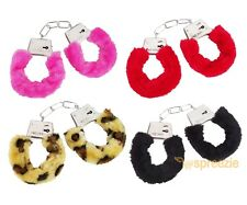 Furry Handcuffs Sexy Love Bachelorette Party Hen Bridal Wrist Cuff Valentine's