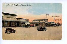 Antique Tijuana Main Street CURIO STORE Hotel de Paris SD Expo 1910s