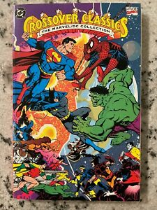 Crossover Classics The Marvel DC Collection TPB Graphic Novel Comic Book J595