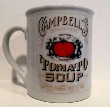 VTG Campbell's Beefsteak Tomato Soup Mug White Gold 125th Anniversary Collection
