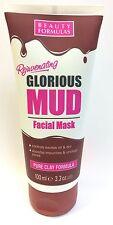Beauty Formulas Rejuvenating Glorious Mud Deep Cleansing Facial Mask 100ml