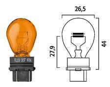 Ten Flosser 315701 Wedge Base Natural Amber Turn Signal Bulbs Replaces 3157NA