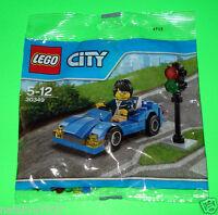 LEGO CITY FIGUR ### SPORTWAGEN - SPORTS CAR 30349 POLYBAG  NEU - NEW ### =TOP!!!