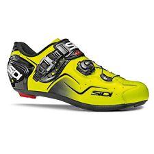 SIDI Kaos Road Cycling Shoes Bike Bicycle Shoes Yellow Fluo Size 36-46 EUR