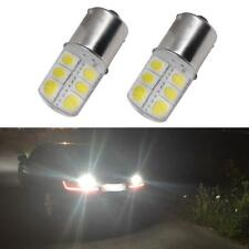 2Pcs 1157 S25 LED 12SMD 12V 1W Automobile Car Brake Light Stop Parking DRL Lamp